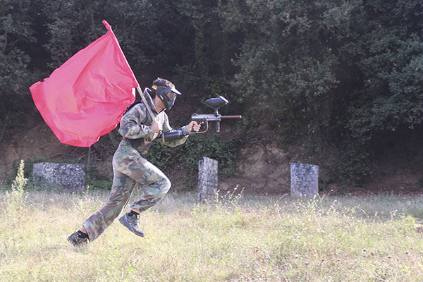 Paintball captura la bandera